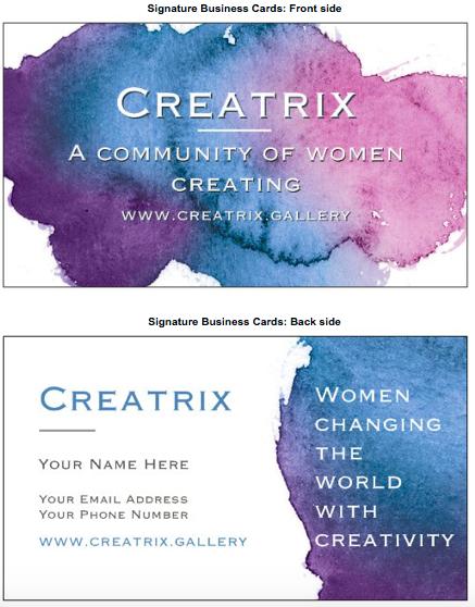 Creatrix Cards #1