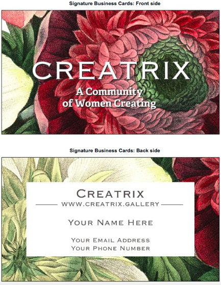 Creatrix Cards #3 - Flower