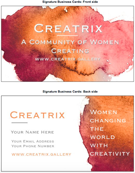 Creatrix Cards #2